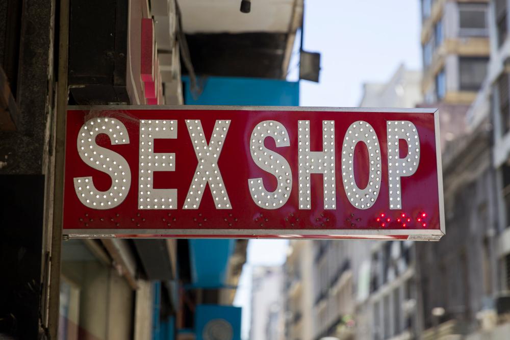 חנות סקס, אביזרי מין